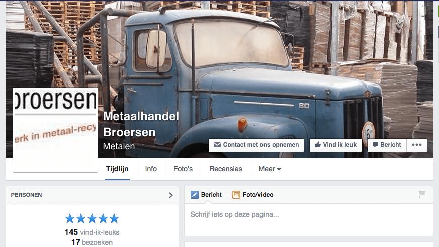 Facebook broersen